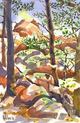 Elephant Rocks Revisited II Poster by Kip DeVore