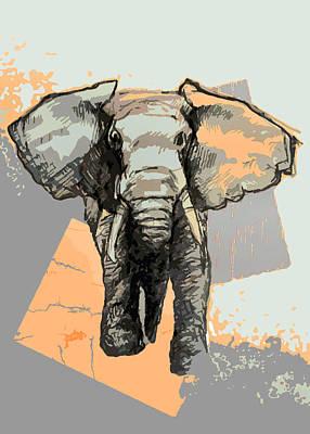Elephants Laugh Poster