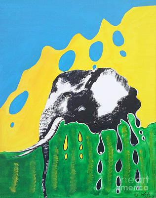 Elephants Tears Poster