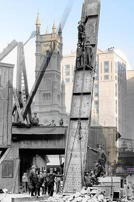 Elevated Construction Poster