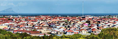 Elevated View Of Houses In A City, Cape Poster by Panoramic Images