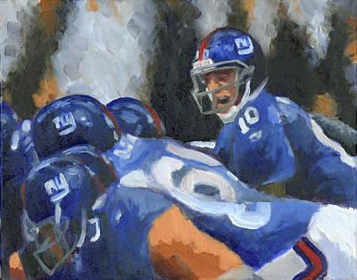 Eli Manning Poster by Joe Maracic