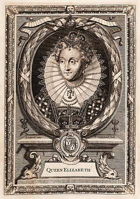 Elizabeth I Poster by Middle Temple Library