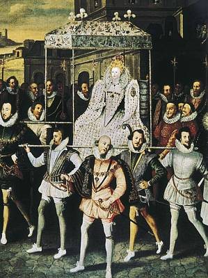 Elizabeth I Of England, Called Poster by Everett