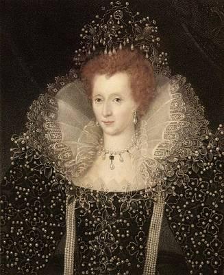 Elizabeth I Poster by Paul D Stewart