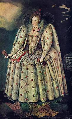 Elizabeth I Poster by Print Collection, Miriam And Ira D. Wallach Division Of Art, Prints And Photographs /new York Public Library