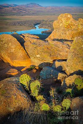 Elk Mountain Sunset Poster by Inge Johnsson