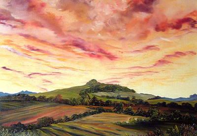 Ellerby  N E Yorkshire Poster by Jean Walker