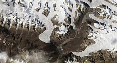 Ellesmere Island Poster by Nasa Earth Observatory