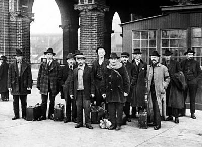 Ellis Island, 1919 Poster