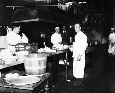 Ellis Island Kitchen Poster by Granger