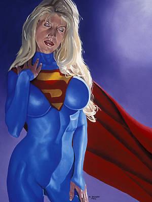 Else World Supergirl Poster