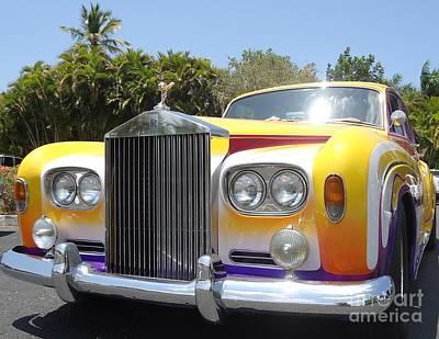 Elton John's Old Rolls Royce Poster