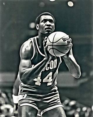 Elvin Hayes Poster