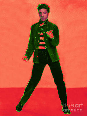 Elvis Is In The House 20130215m40 Poster by Wingsdomain Art and Photography