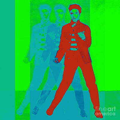 Elvis Jail House Rock 20130215p68 Poster by Wingsdomain Art and Photography