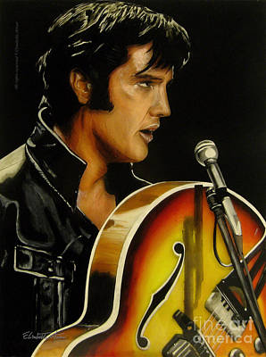 Elvis Presley Poster by Betta Artusi