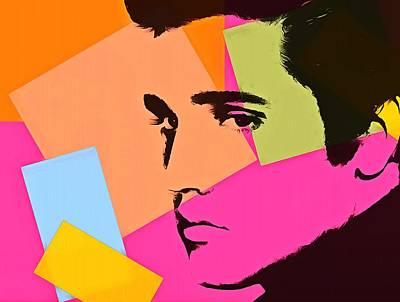 Elvis Presley Pop Art Poster