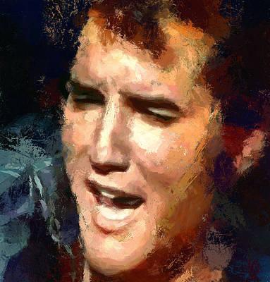 Elvis Presley Portrait 2 Poster