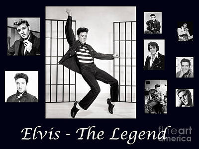 Elvis Presley - The Legend Poster