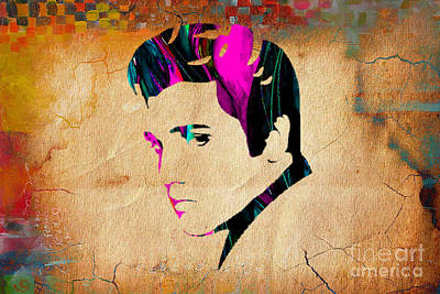 Elvis Presly Wall Art Poster by Marvin Blaine