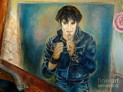 Elvis The Comeback Concert Poster