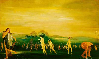 Elysian Fields Poster by Arthur B Davies