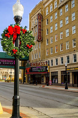Embassy Christmas - Fort Wayne Poster