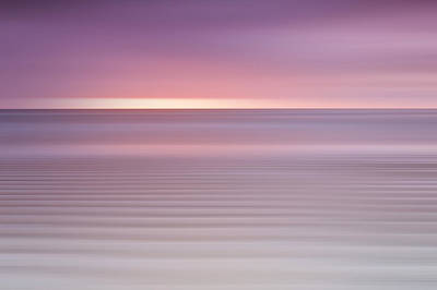 Embleton Bay Ripples II Poster by Chris Frost