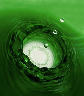 Emerald Drops Poster