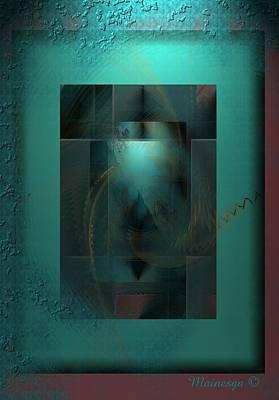 Emerald Rain Poster by Ines Garay-Colomba
