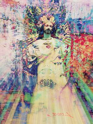 Emerging From Gethsemane Poster by Candee Lucas