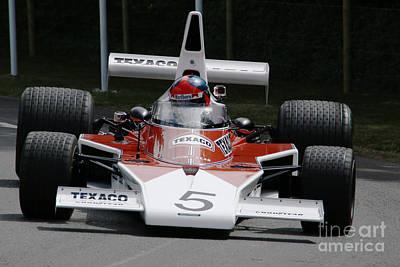 Emerson Fittipaldi Mclaren M23 Poster