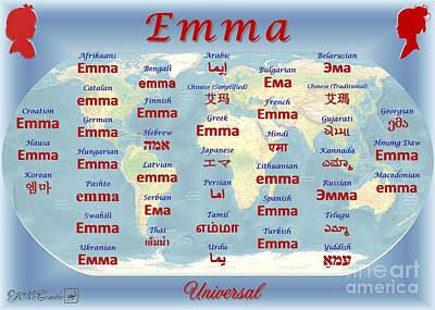 Emma Poster by J McCombie