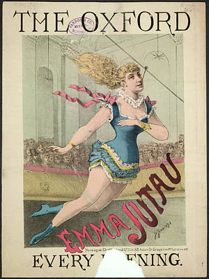 Emma Jutau Poster by British Library