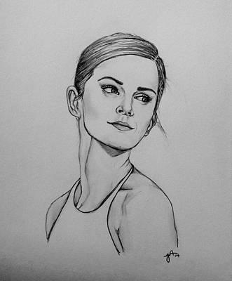 Emma Watson Poster by Jeszy Arnold