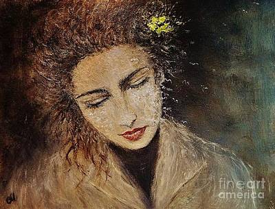 Poster featuring the painting Emotions... by Cristina Mihailescu