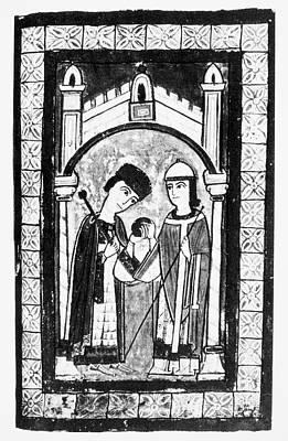 Emperor Henry V, 1111 Poster by Granger