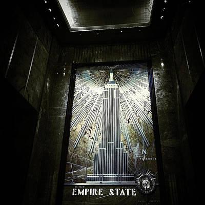 Empire Art Deco Poster by Natasha Marco