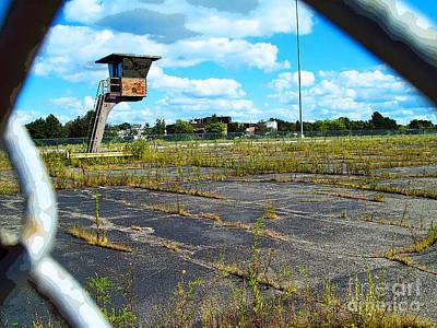 Employee Parking Lot Poster by MJ Olsen