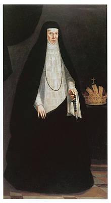 Empress Maria Of Austria Poster by Juan Pantoia De La Cruz