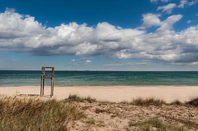 Empty Beach Poster by Juan Carlos Ferro Duque
