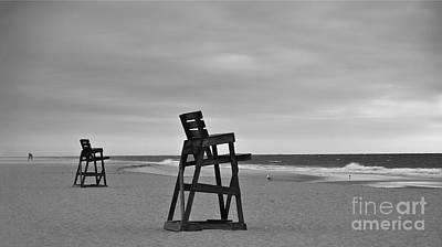 Empty Beach Poster by Mark Miller