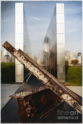 Empty Sky New Jersey September 11th Memorial Poster by George Oze