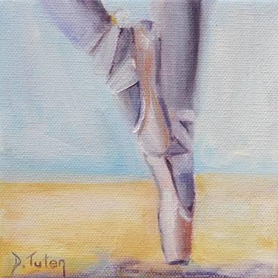 En Pointe Poster by Donna Tuten