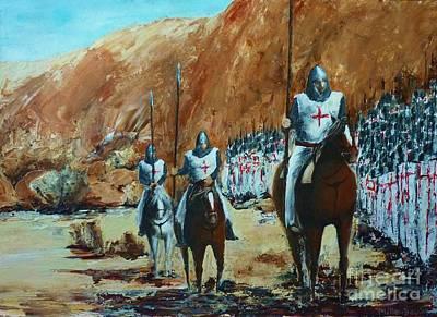 En Route To Battle Poster