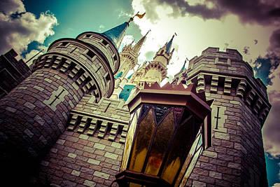 Enchanted Castle Poster by Andrew Delos Santos