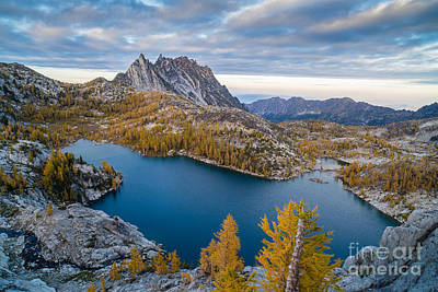 Enchantments Fall Splendor Poster by Mike Reid