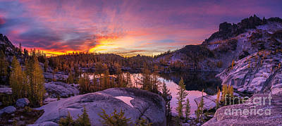 Enchantments Sunrise Illumination Poster