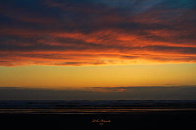 End Of A Perfect Day Poster by Jeanette C Landstrom